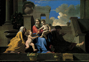 Earl A. Powell III - The Holy Family on the Steps, which the NGA learned during Powell's tenure was not by Nicolas Poussin.