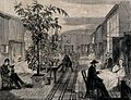 The Hospital of Bethlem (Bedlam), St. George's Fields, Lambe Wellcome V0013739.jpg