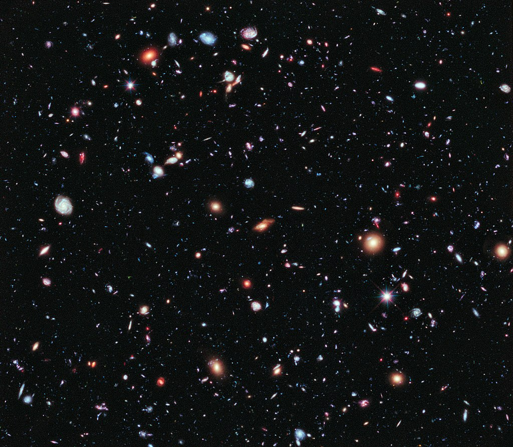 Hubble eXtreme Deep Field image