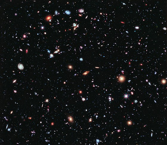 The Hubble eXtreme Deep Field.