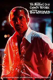 <i>The Killing of a Chinese Bookie</i> 1976 film by John Cassavetes