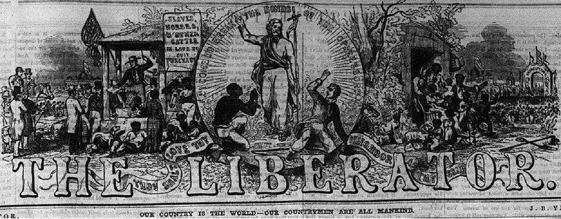 File:The Liberator W L Garrison Masthead 7 June 1850.pdf