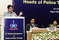 The Lt. Governor of Puducherry, Dr. Kiran Bedi delivering the inaugural address at the 35th National Symposium of Heads of Police Training Institutions, in New Delhi on March 23, 2017.jpg