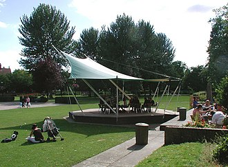 Mick Ronson - The Mick Ronson Memorial Stage in 2007