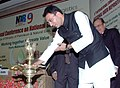The Minister of State of Petroleum and Natural Gas, Shri Jitin Prasad lighting the lamp to inaugurate the International Conference on National Data Repository (NDR9), in New Delhi on September 01, 2009.jpg