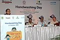 "The Minister of State of Rural Development, Ms. Agatha Sangma addressing the ""Hand Washing day"" function, in New Delhi on October 27, 2009.jpg"