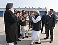 The Prime Minister, Shri Narendra Modi departs from Punjab after inaugurating the Heart of Asia Ministerial Conference, in Amritsar, Punjab on December 04, 2016.jpg