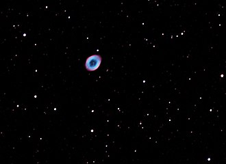 Ring Nebula - Image: The Ring Nebula M57