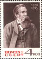 The Soviet Union 1970 CPA 3906 stamp (Friedrich Engels).png