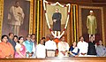 The Speaker, Lok Sabha, Smt. Sumitra Mahajan, the Union Home Minister, Shri Rajnath Singh, the Union Minister for Urban Development, Housing and Urban Poverty Alleviation and Parliamentary Affairs, Shri M. Venkaiah Naidu.jpg