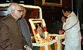 The Union Finance Minister, Shri P Chidambaram paying tribute at the portrait of Shri C. Rajagopalachari on his birth anniversary, in New Delhi on December 10, 2007.jpg