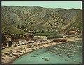 The beach at Avalon, Santa Catalina Island, Cal-LCCN2008679612.jpg