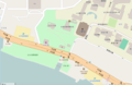 The location of Fort Santo Domingo from OpenStreetMap 20160718.png