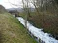 The outfall at Cwm Carn lake - geograph.org.uk - 688538.jpg