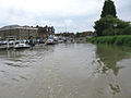 The quay at Sandwich, high water - geograph.org.uk - 1590748.jpg