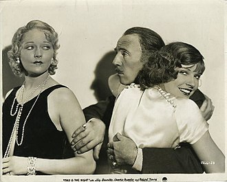 This Is the Night (film) - Thelma Todd, Roland Young and Lili Damita in This Is the Night