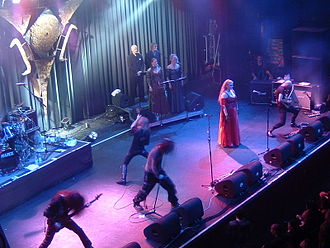 Therion (band) - Live in Netherlands, 2004