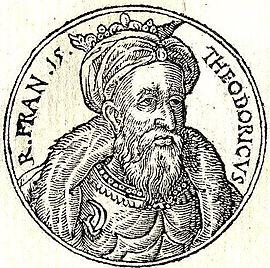 Theuderich III., Fränkisches Reich, König