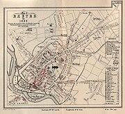 Thomas-Shapter-HistoryOfCholeraInExeter1832-map