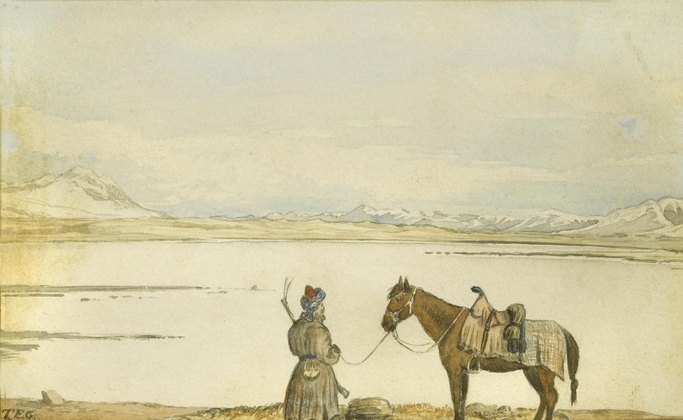Thomas Edward Gordon Lake Victoria, Great Pamir, May 2nd, 1874