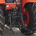 Three-point linkage of a Kubota tractor.jpg