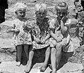Three unidentified children, Arkansas (7592538994).jpg