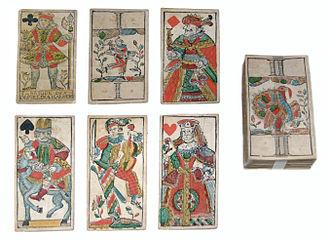 Tarot - Image: Tiertarock Mannheim ca 1778