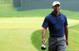 The National (golf) - Tiger Woods at the pro-am in 2009
