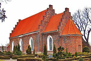 Tillitse Church - Tillitse Church, Lolland