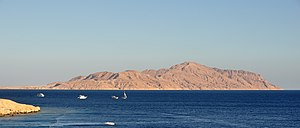Straits of Tiran - The Strait of Tiran and Tiran Island