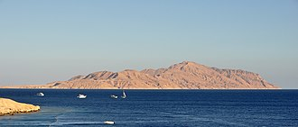 Straits of Tiran - The Strait of Tiran and Tiran Island