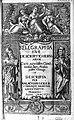 "Title page ""Kelegraphia..."" M. Geiger, 1631 Wellcome L0008268.jpg"