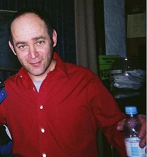 Todd Barry - Barry at Zanies in February 2006