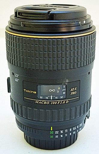 Tokina - 100mm macro