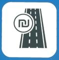 Toll road symbol Israel.png