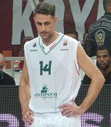 Tomas Ress, l'ultimo capitano della Mens Sana Basket