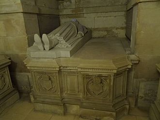 Prince Luís of Orléans-Braganza (1878–1920) - Tomb of Prince Luís and Princess Maria Pia in the Royal Chapel of Dreux, France.