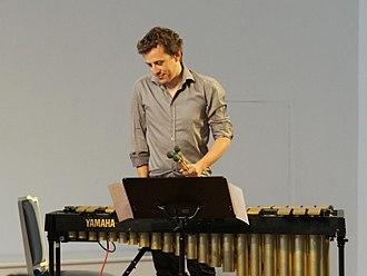 Pascal Schumacher - Pascal Schumacher at Tonspuren Irsee 2014, Germany