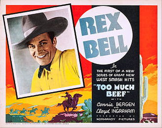 Rex Bell - Bell in Too Much Beef, 1936