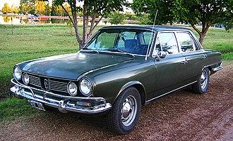 IKA-Renault Torino - Torino TS 4-door sedan (1970-1973)