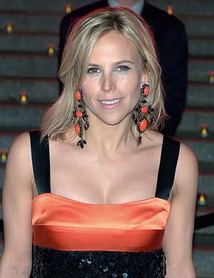 English: Tory Burch at the Vanity Fair celebra...