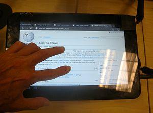 toshiba thrive wikipedia rh en wikipedia org Toshiba Thrive Toshiba Tablet