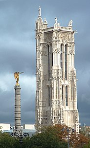 Saint jacques tower wikipedia - Tour saint jacques visite ...