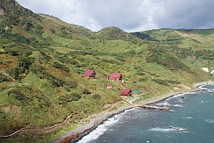 Moneron Island - Tourist facilities on Moneron Island