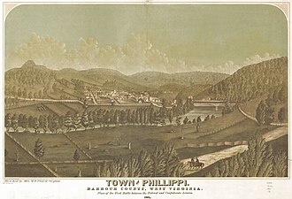 Philippi, West Virginia - Town of Phillippi (1861)