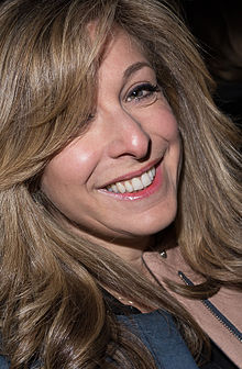 Tracy Ann Oberman at the Moet BIFA 2014.jpg