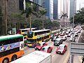 Traffic Jam on Gloucester Road near Central Plaza.JPG