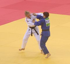 Trajdos (NED) vs Trstenjak (SLO) at the gold final of the 2015 European Games 2.jpg