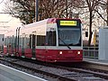 Tram at Wandle Park Tram Stop - geograph.org.uk - 683526.jpg