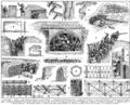 Tranchées. Trenches. Trench warfare. Book illustration (encyclopedia plate line art) Larousse du XXème siècle 1932.png